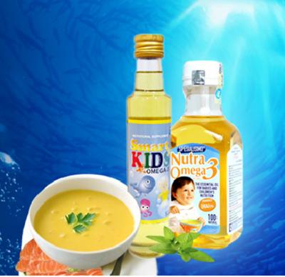 Dầu cá omega3 rất quan trọng trong việt hình thành và phát triển trí não