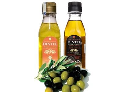 Dầu olive Dintel Extra Virgin và dầu olive Dintel Oil