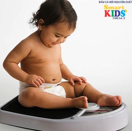 Những sai lầm khiến bé không tăng cân