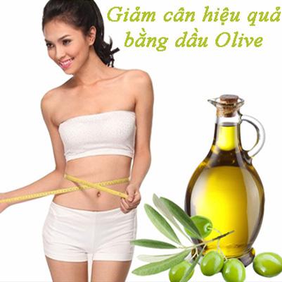 Giảm cân hiệu quả với dầu olive