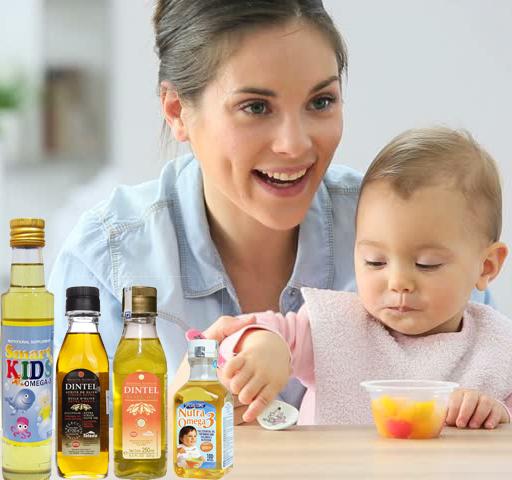 Các loại dầu ăn cho trẻ